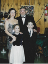Wonderful family of 4 - New Year's Eve - '97